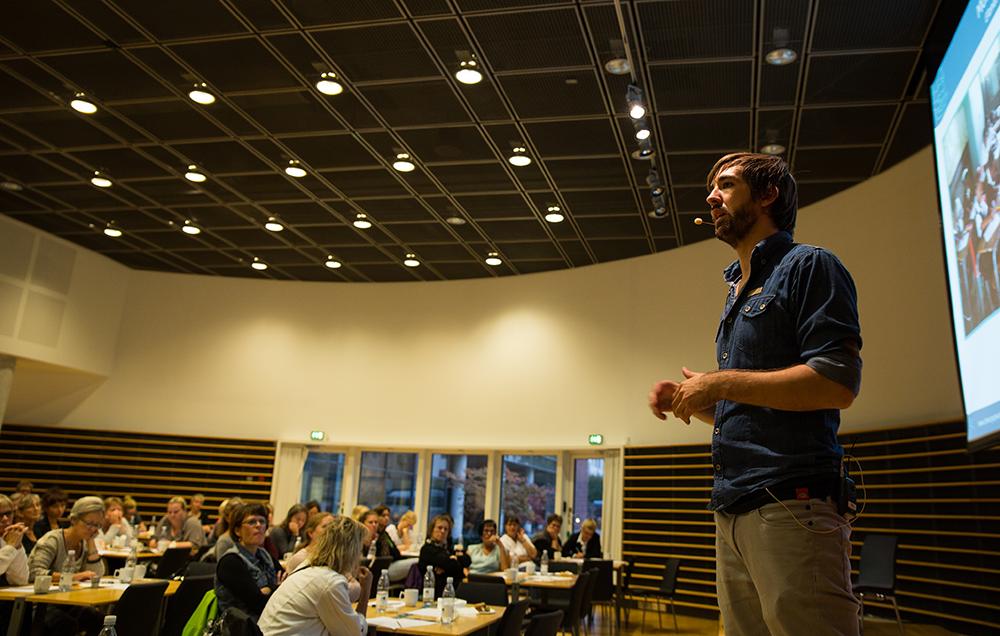 """""""... Kasper Købke is a super living and present speaker..."""""""