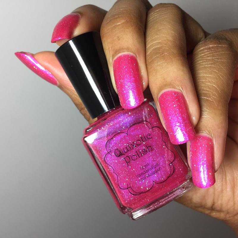 Quixotic Polish Wednesday's Pink