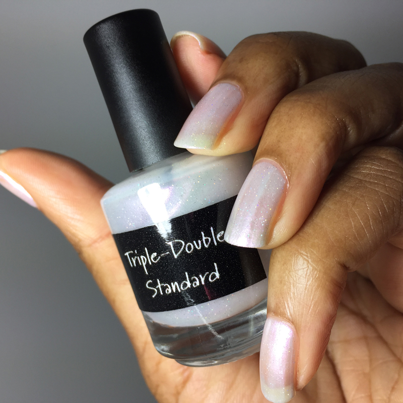 CrowsToes Nail Color Triple-Double Standard