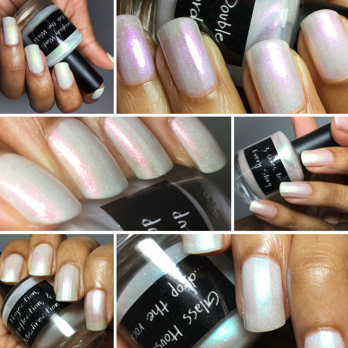 CrowsToes Nail Color Pearls of Wisdom Collection
