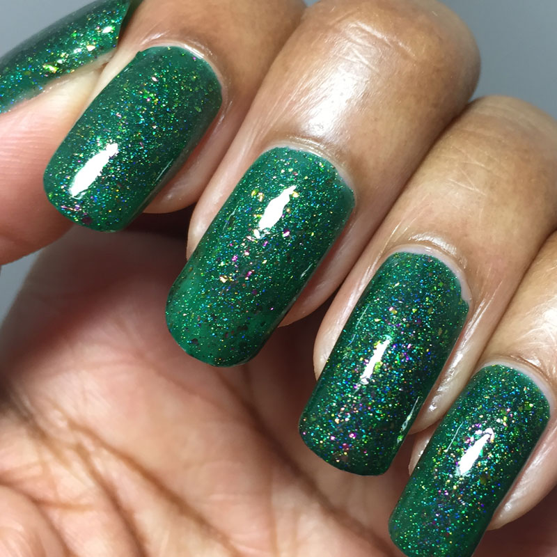 Quixotic Polish Tsavorite