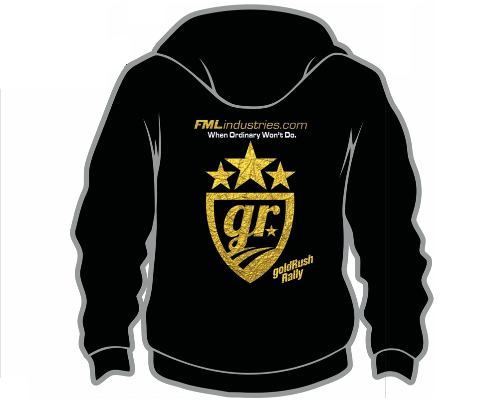 $90.00     Exclusive Gold Foil Stamped Edition:  All sizes are available  Men's & Women's Hoodie styles