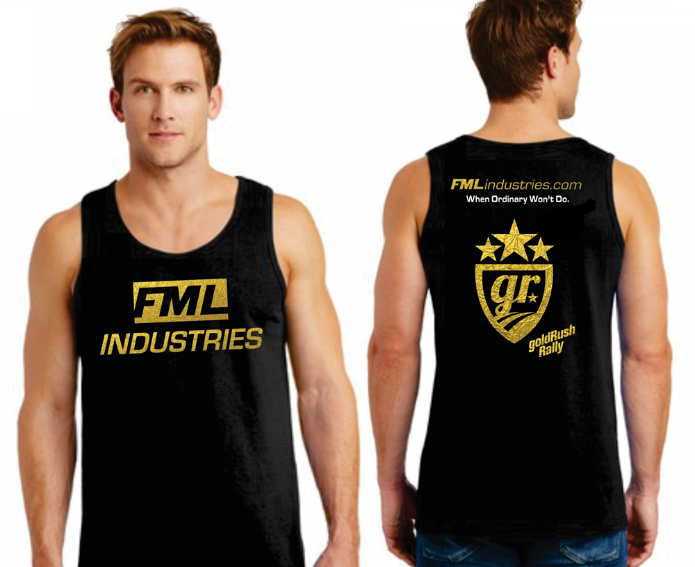 $35.00     Exclusive Gold Foil Stamped Edition:  All sizes are available  Men's & Women's Tank styles