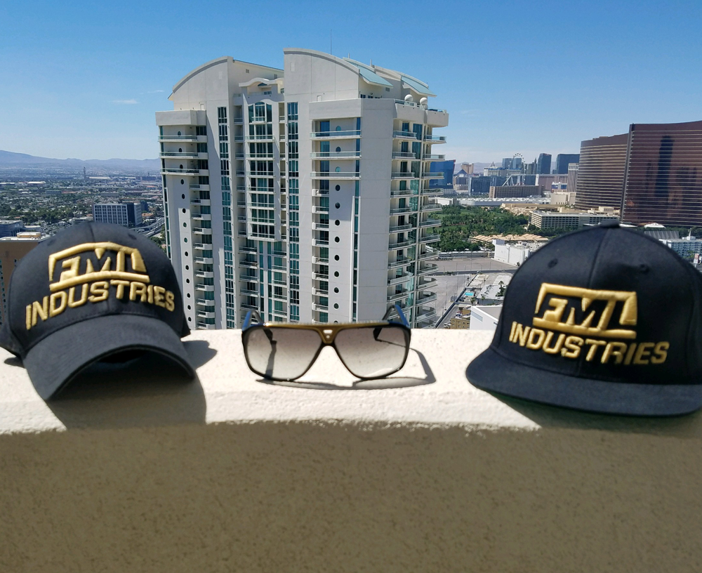 $35.00     #FML Black Hat - Exclusive Gold Edition:  All sizes are available  Snapback & Fitted styles
