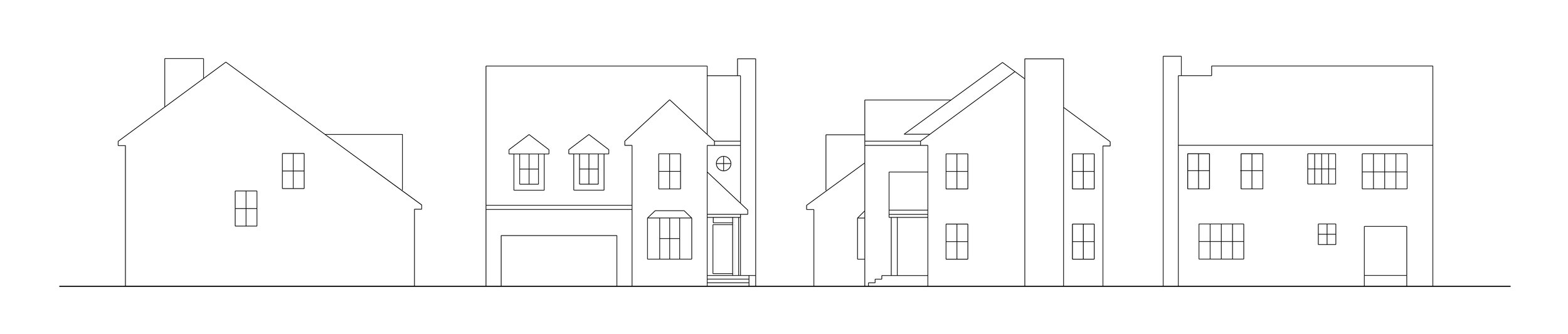 Elevation drawings of my home.