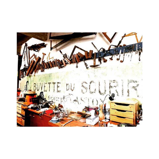 Hat maker in Caussade! Impromptu workshop tour #hatmaking #caussade #france #workshop #tarnetgaronne