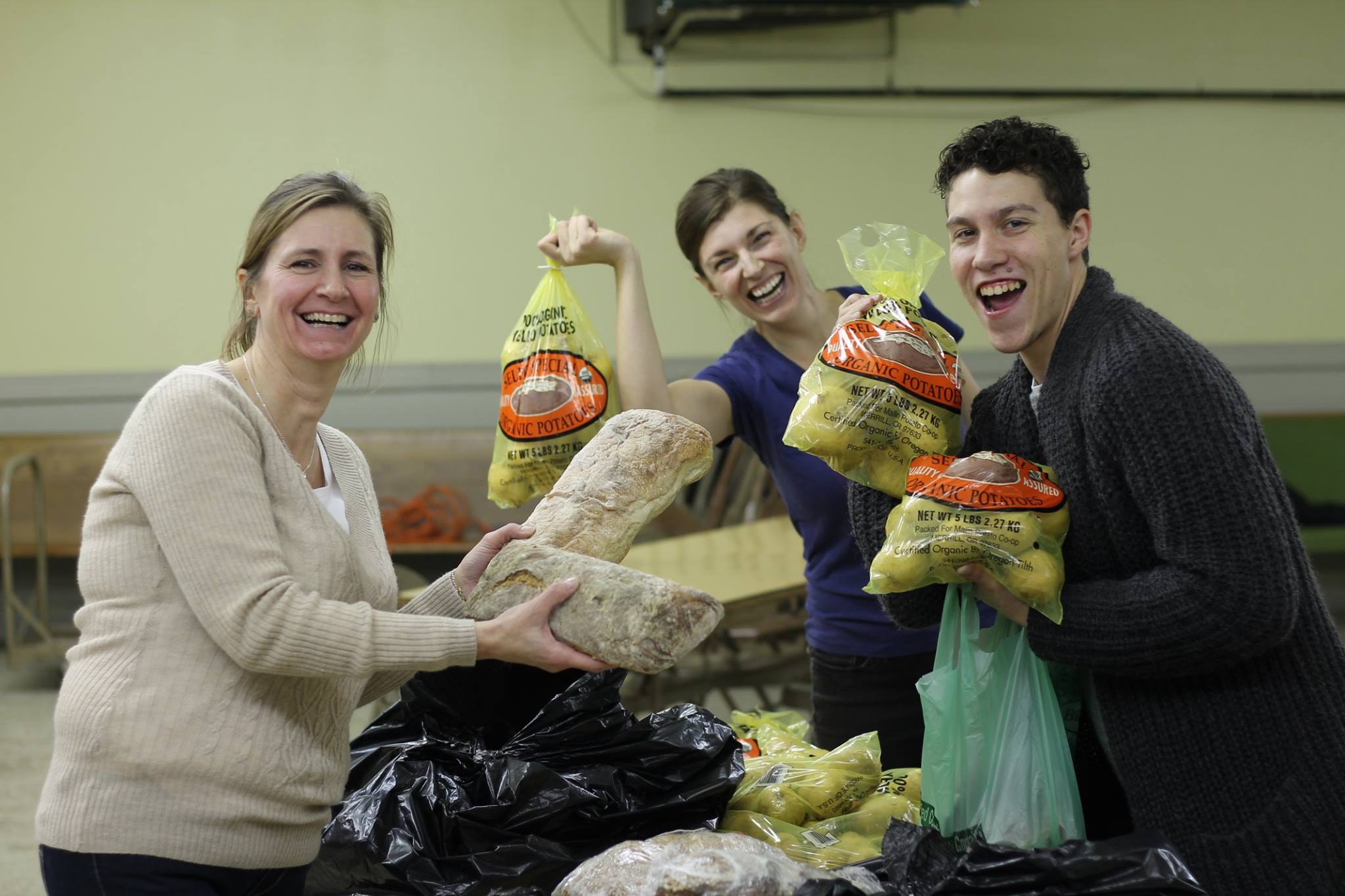 Bread & Potatoes Donation