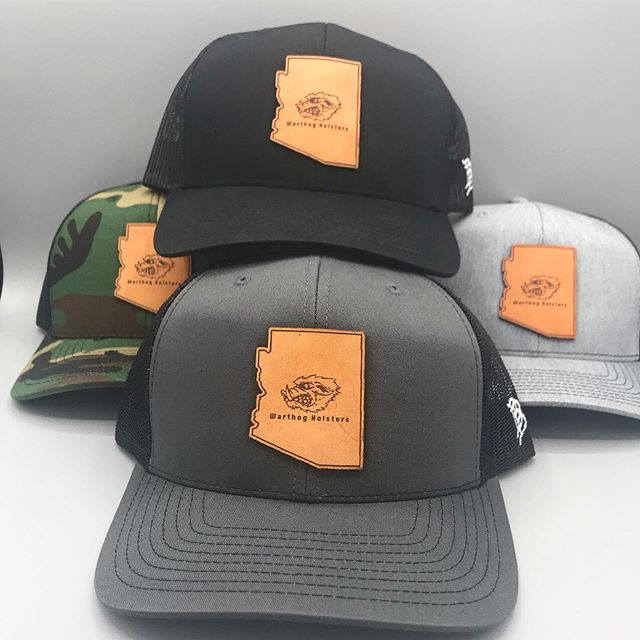 The new covers are in. Added to new colors to the mix. Camo, Black, Heather Grey, and Charcoal Grey. Get em while the gettin is good.  #warthog #warthogholsters #a10 #cover #hat #cap #pewpew  #glock #sigsauer #smithandwesson #hechlerandkoch #9mm #40caliber #45acp #223