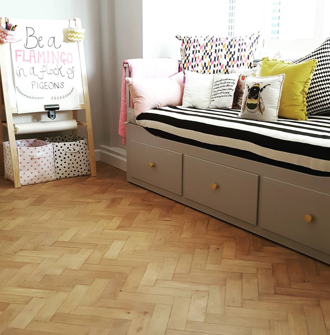 Oh hello parquet flooring of my dreams
