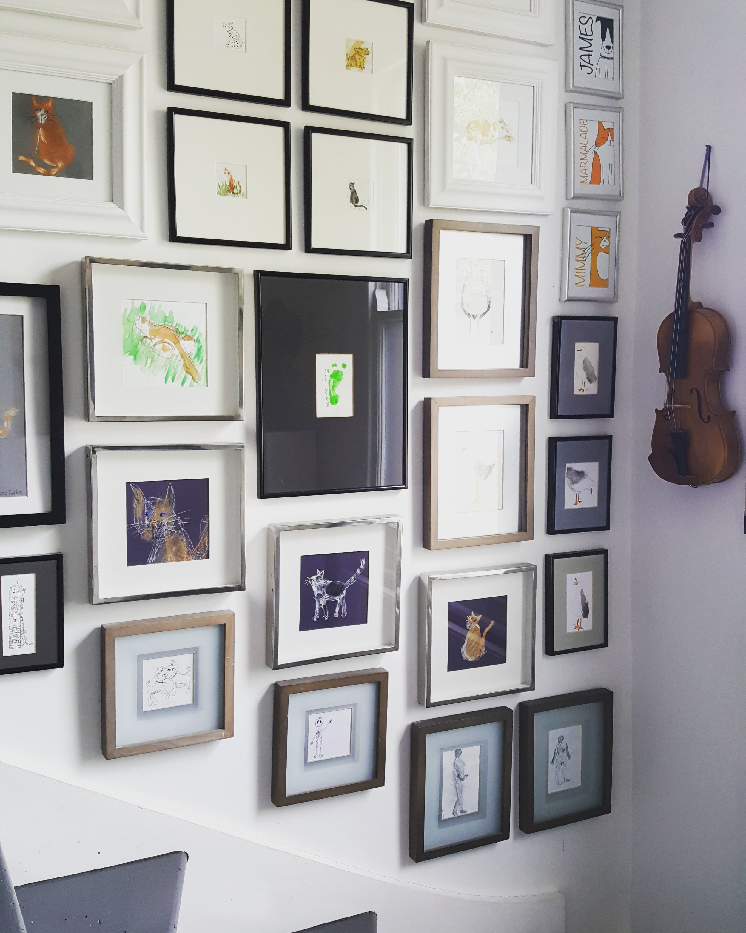 Of Special Interest Gallery Wall