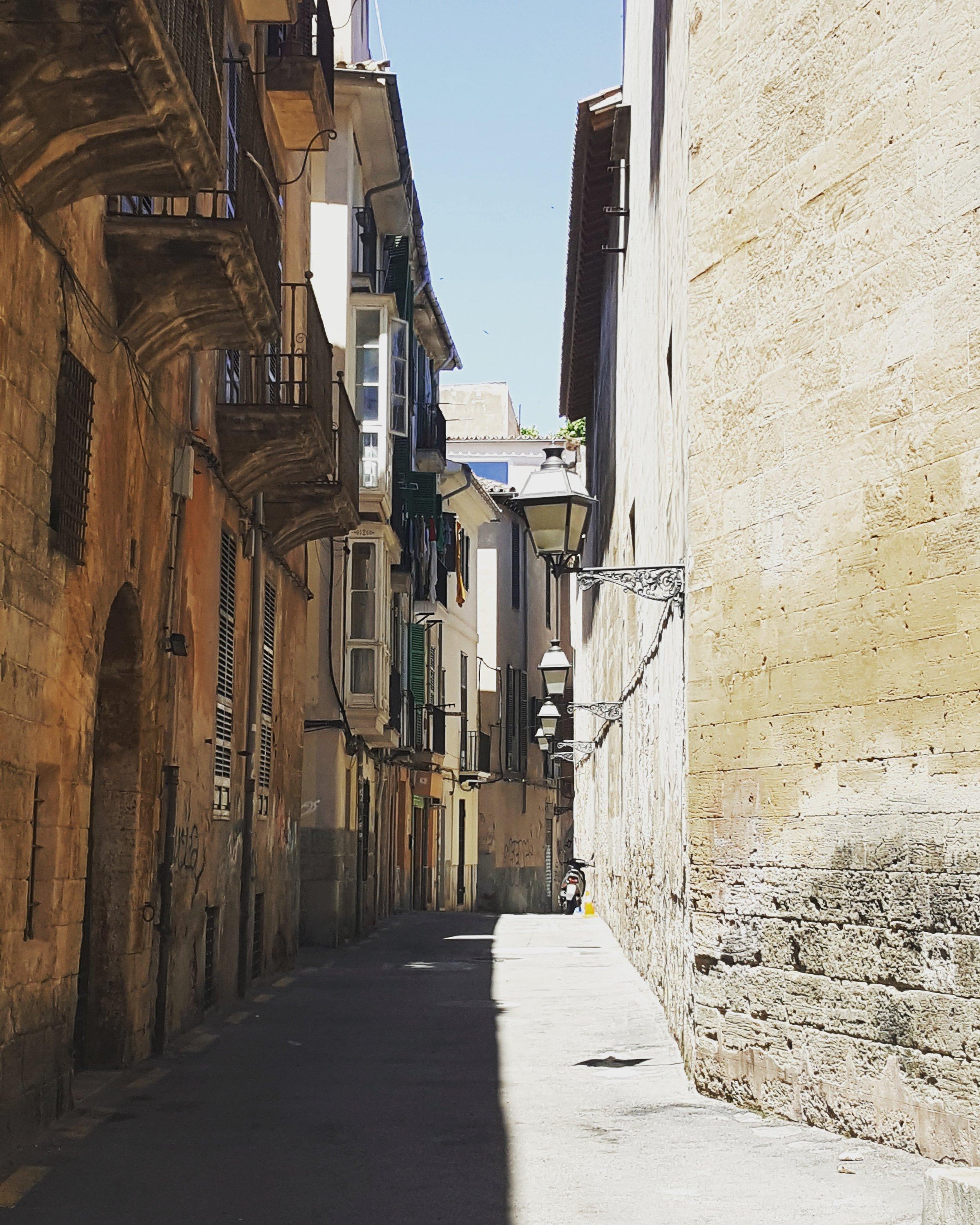 Palma's beautiful Old Town