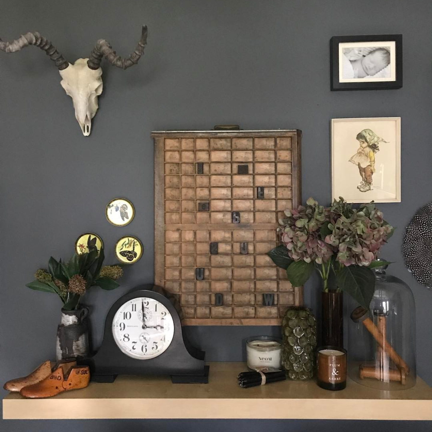 @the_girl_with_the_green_soda displaying some of her lovely Occasional Home Store finds.