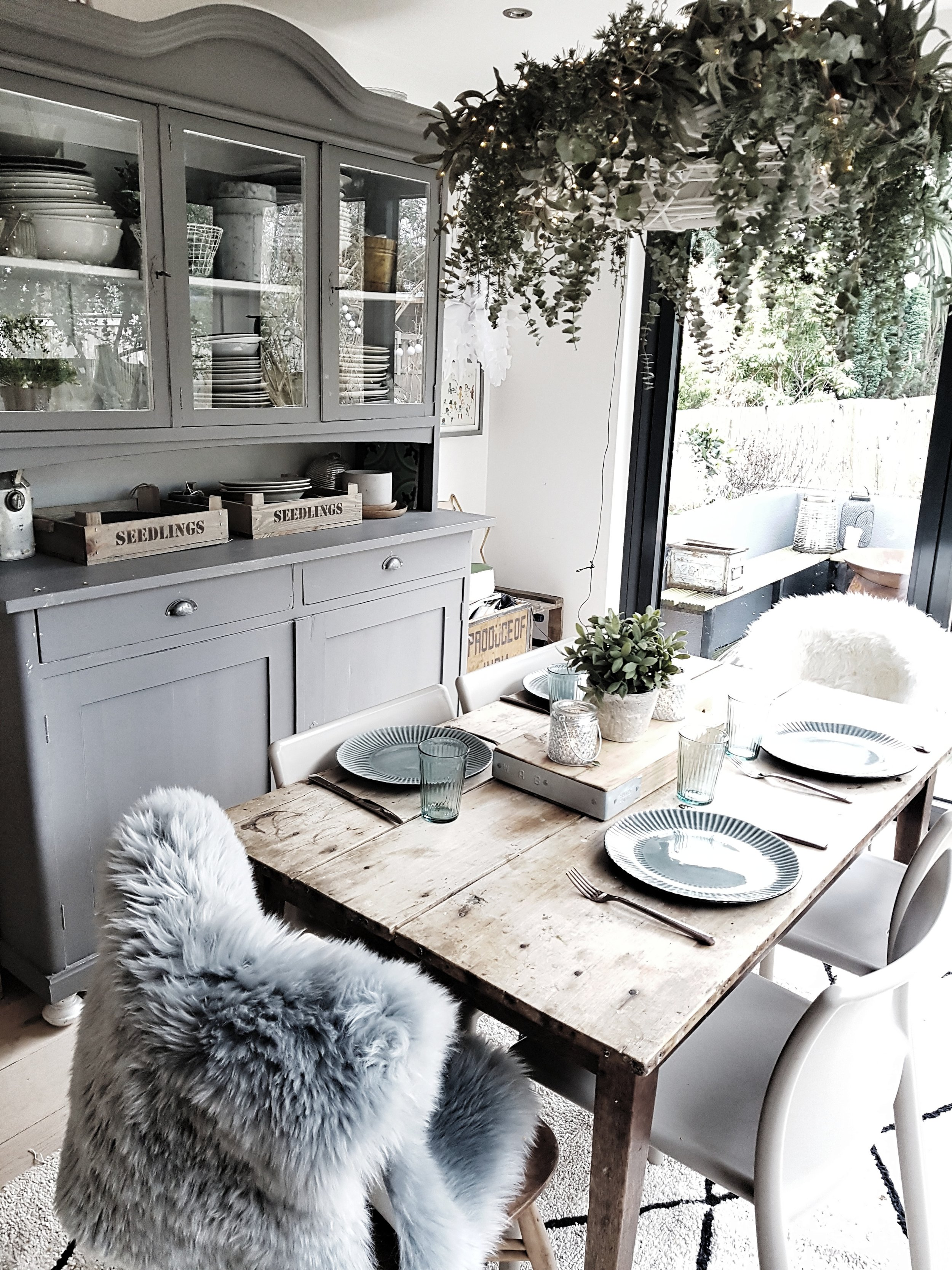 Our kitchen table board room Chez Malmo & Moss
