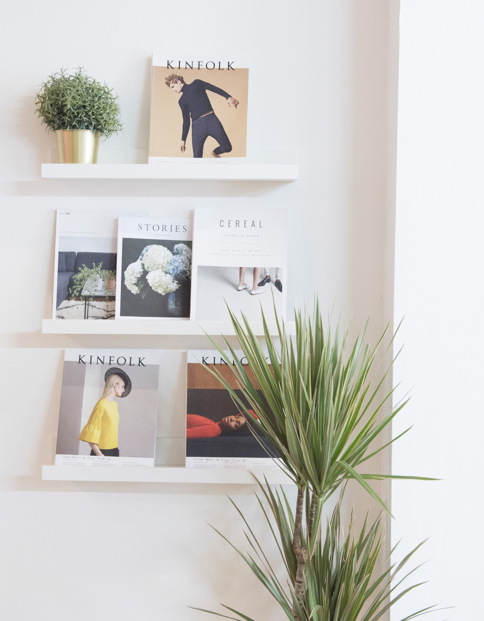 We are hoping some copies of Kinfolk from the shelves of Tinker Tailor's shop in Bush Hill Park will be making their way to our Spring fair.