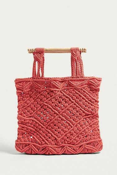 Macrame Tote LF Markey at  Urban Outfitters