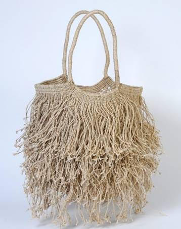 Jute bag from  Maison Bengal