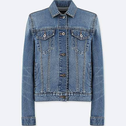 Vintage denim jacket from  Uniqlo