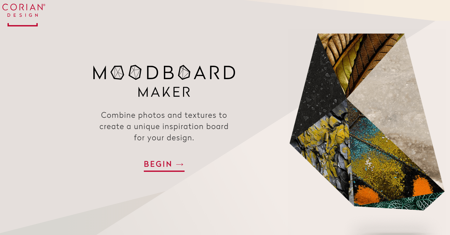 An introduction to the Moodboard maker