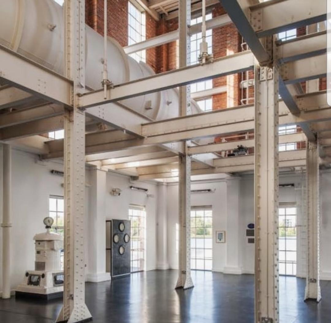 Our beautiful industrial venue the West Reservoir Centre