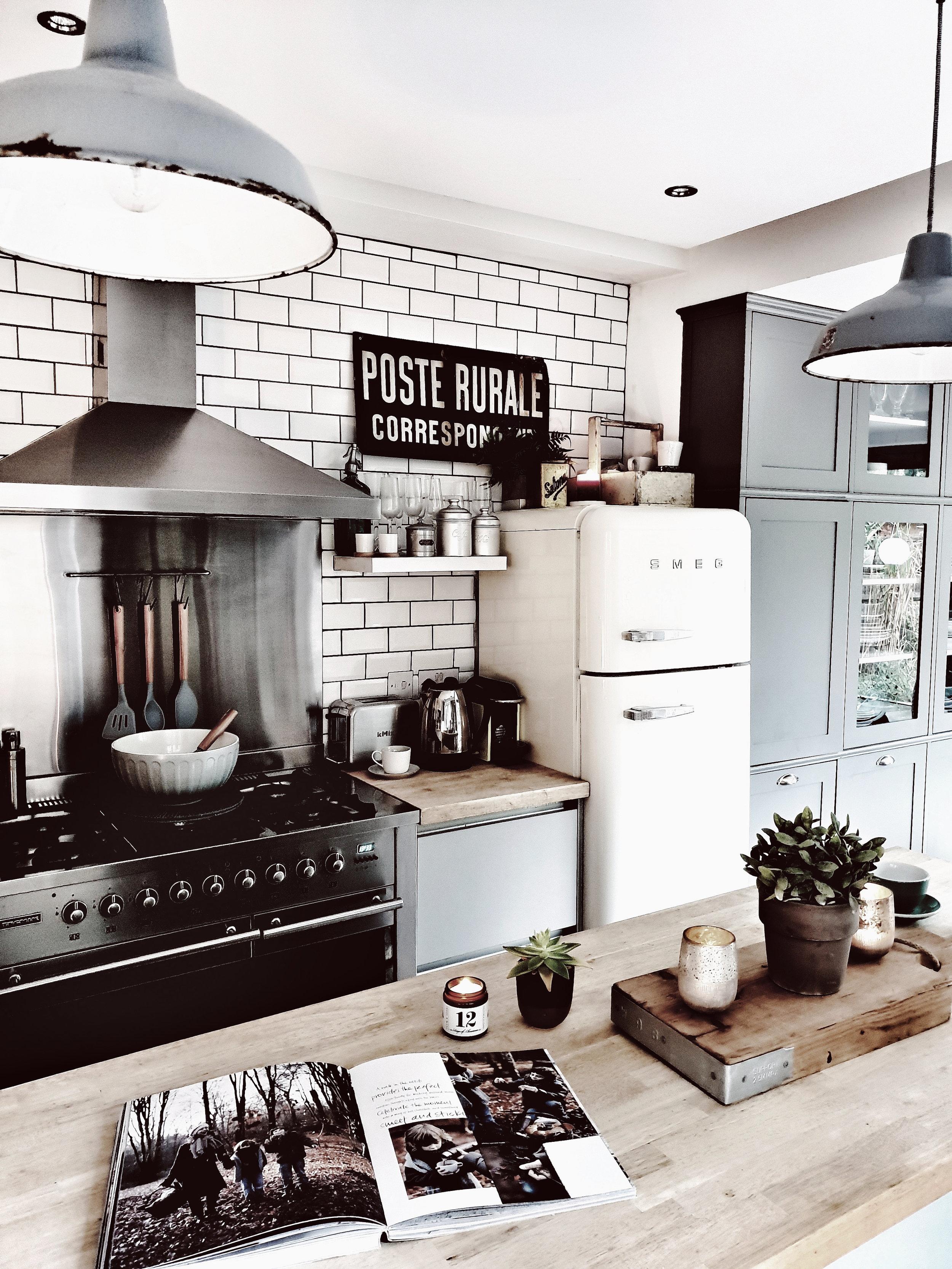 My kitchen in October