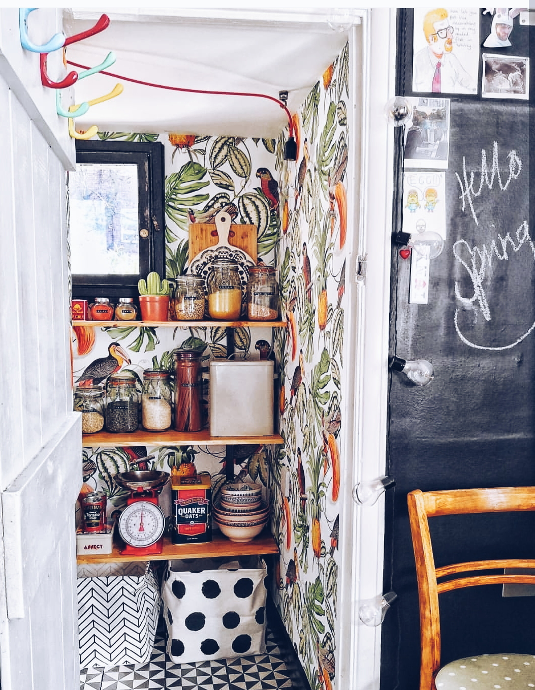 Club Tropicana in  Vic's pantry , one of her favourite campaign's she has worked on so far for E Bay