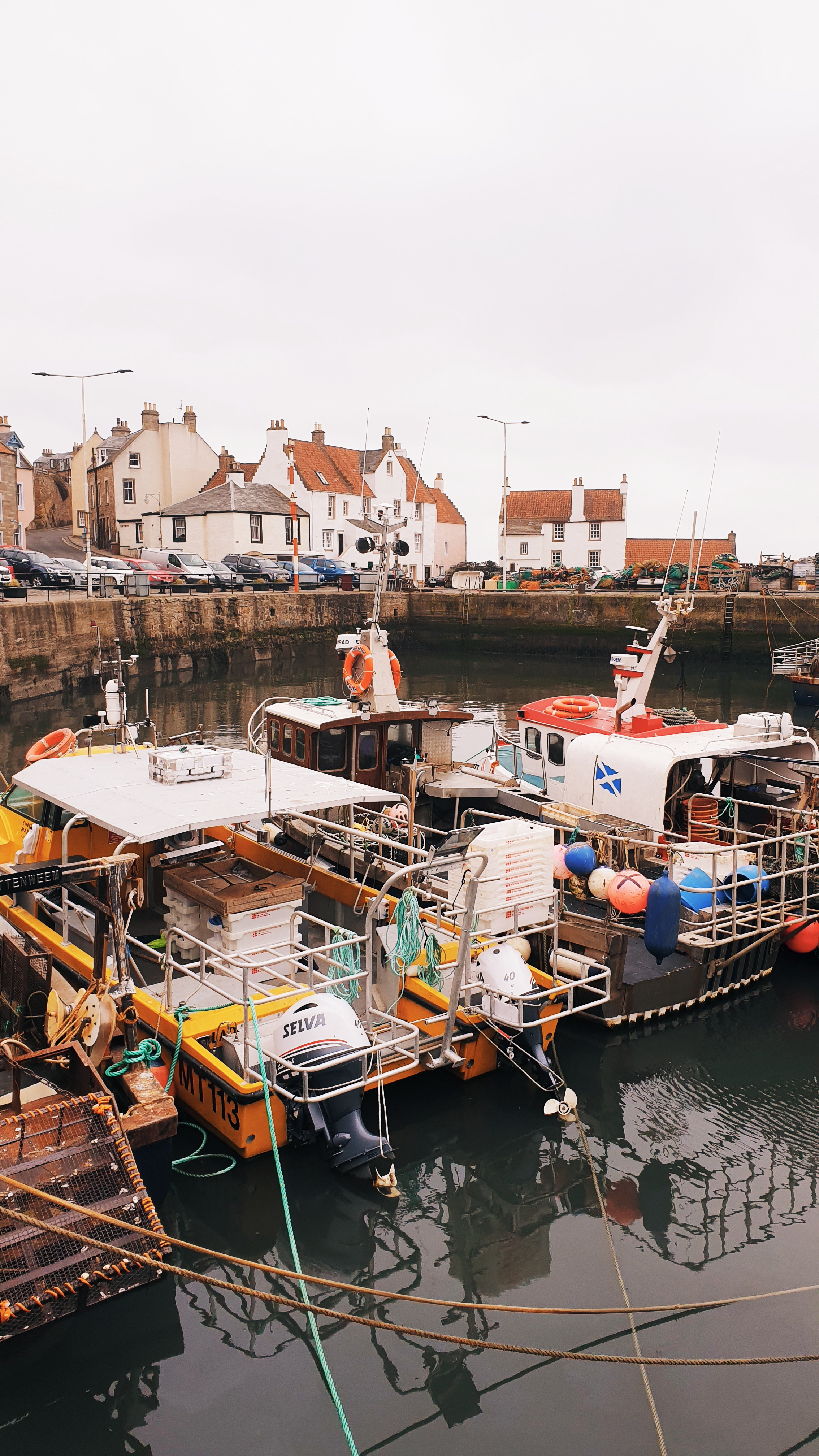 The harbour in Pittenweem