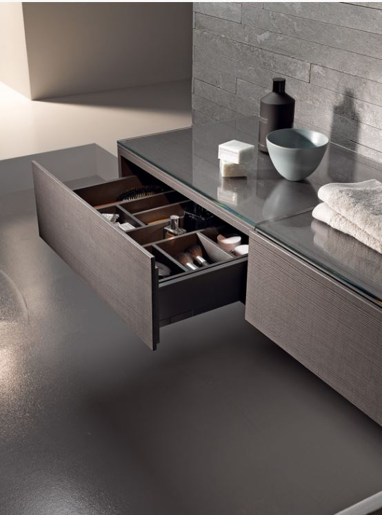A basin and vanity unit from the  Xeno²  range