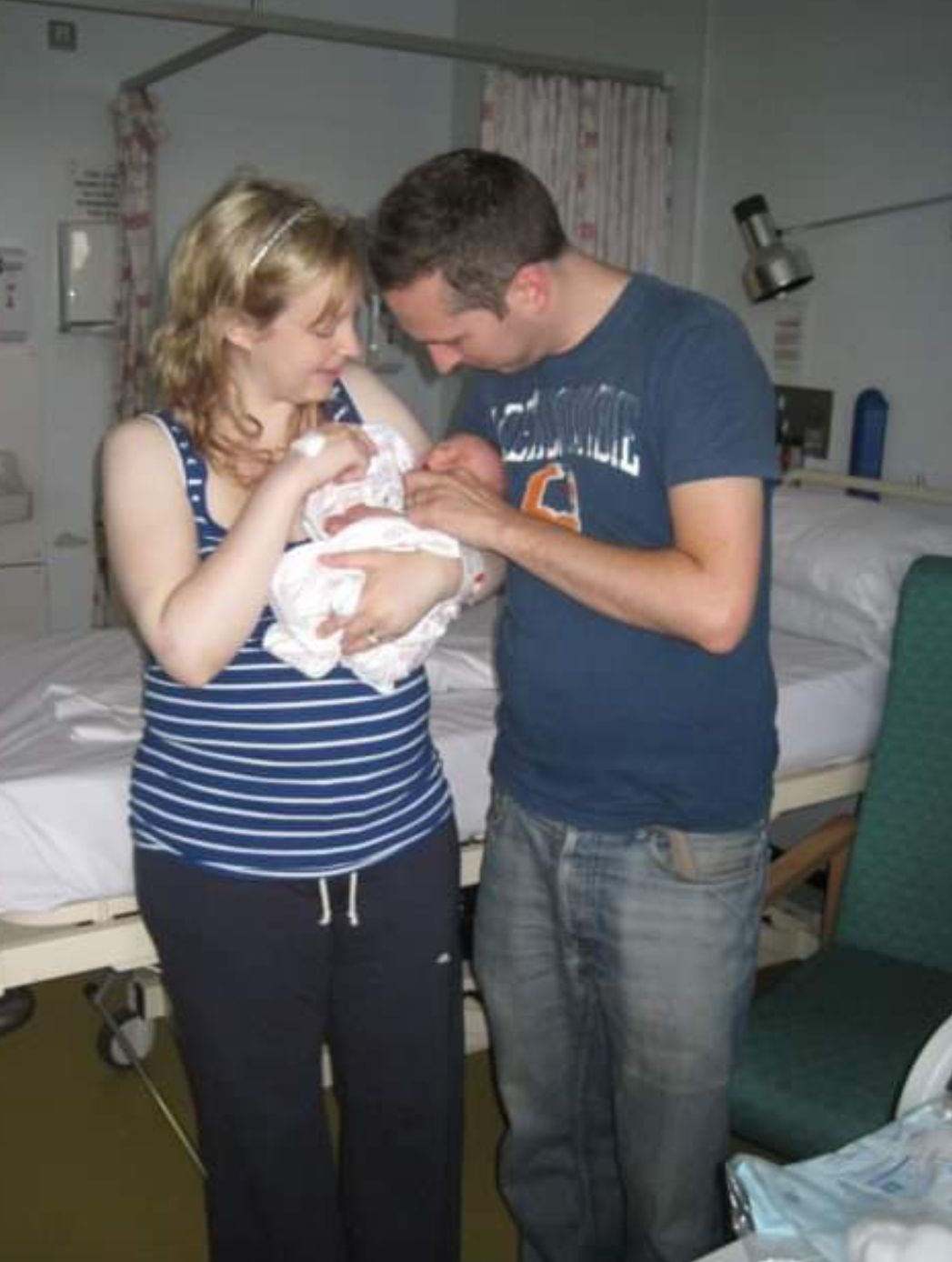 July 2010: just two weeks after moving in we welcomed our first son