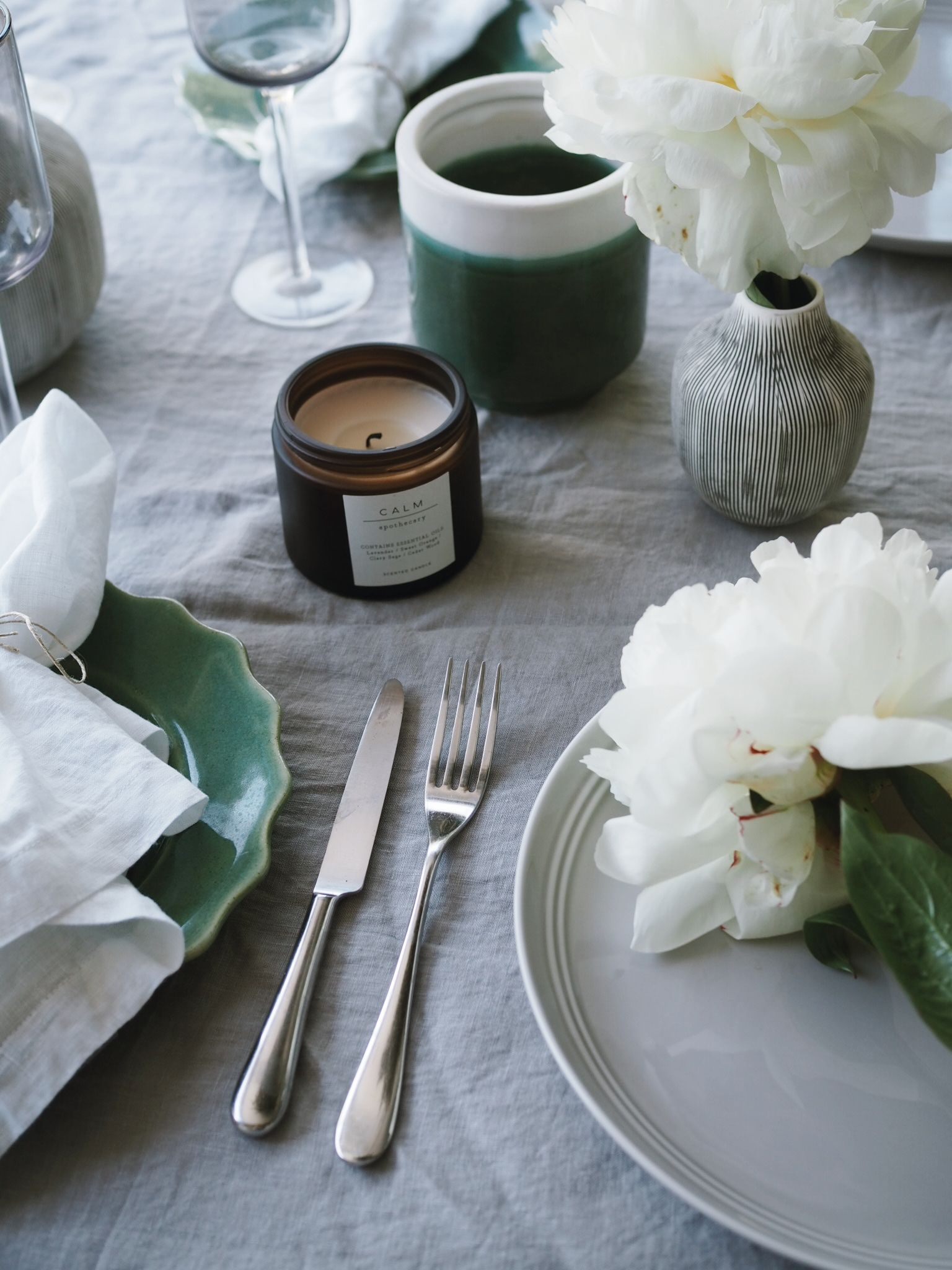Peonies plate perfection
