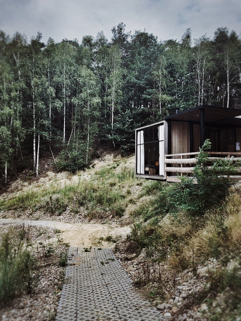 This was one of my favourites. It overlooked a lake and had a hot tub