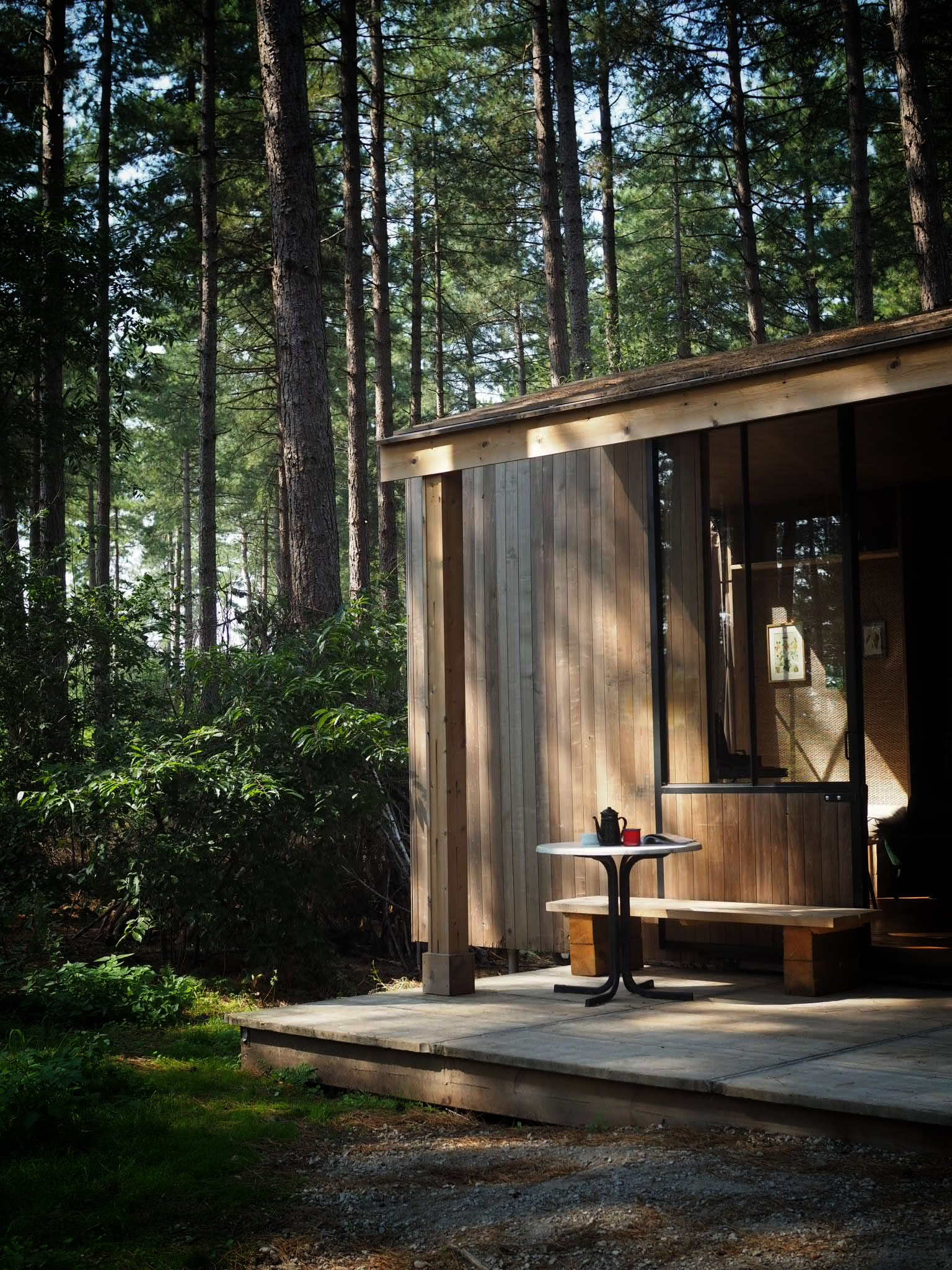 Our own slice of Scandi cabin heaven for the week