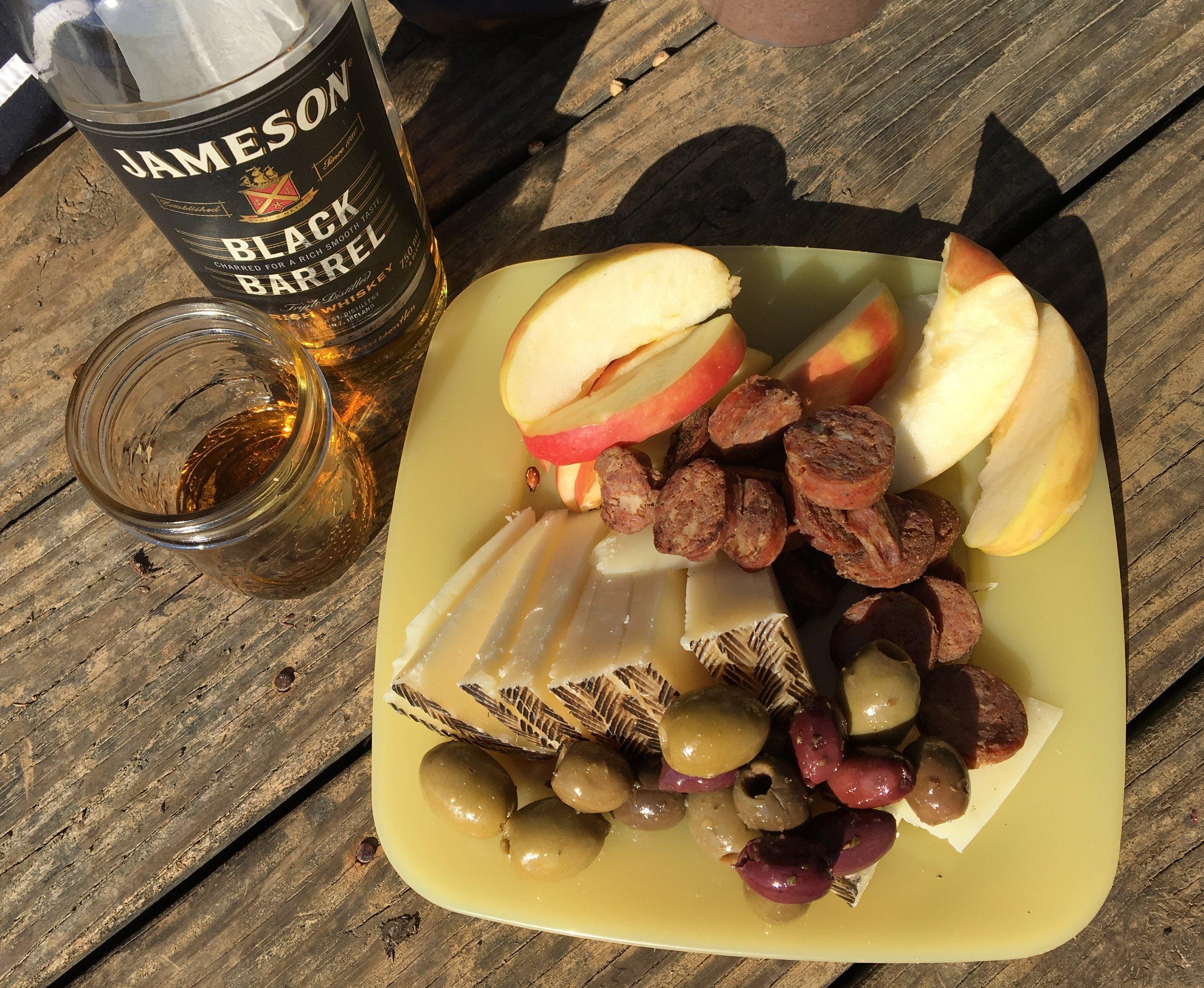 Whiskey_sausage_fruit.JPG