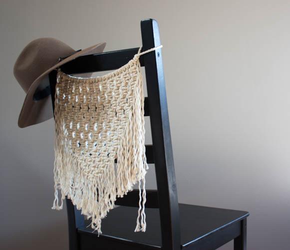 Macramé Chair Hanger