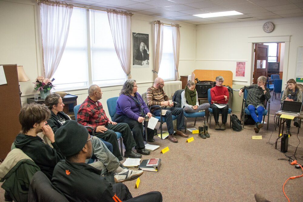 Antiracism Study Dialogue Circle at Common Ground Meditation Center