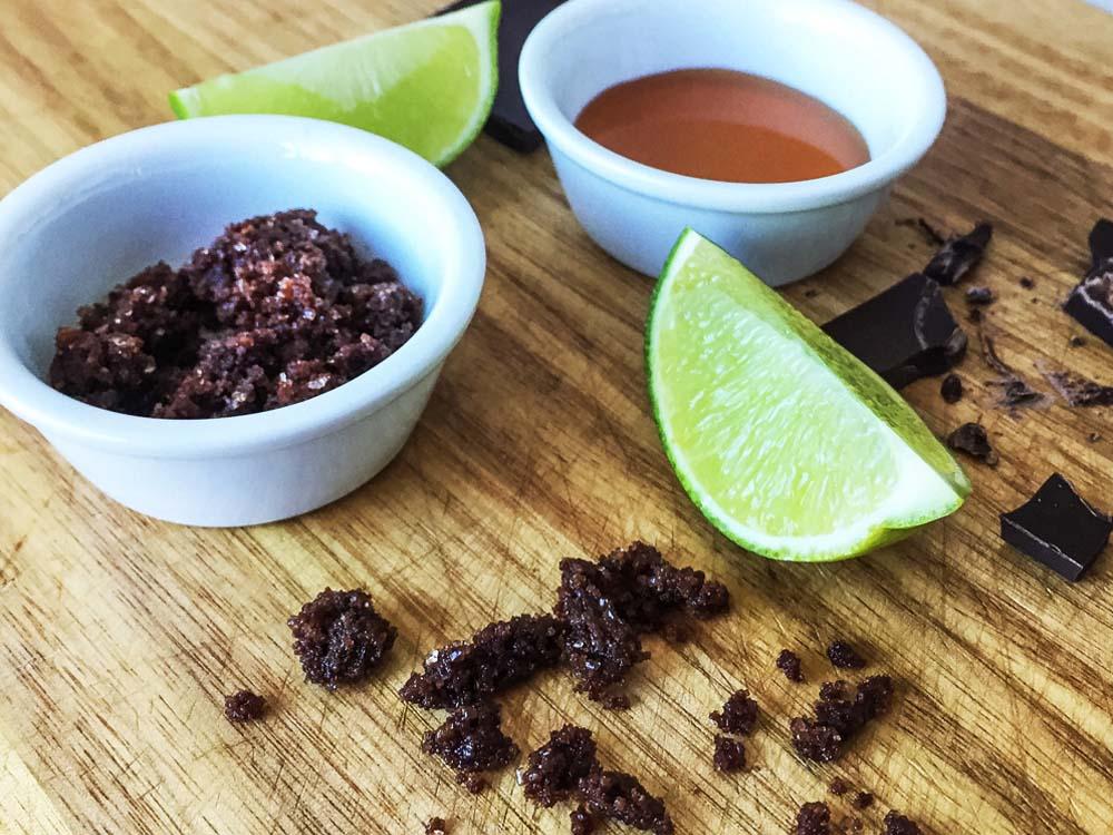 Food2Face Cocoa, Sugar and Lime Body Scrub