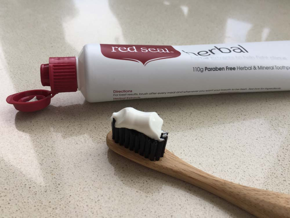 Red Seal Paraben Free Herbal & Mineral Toothpaste