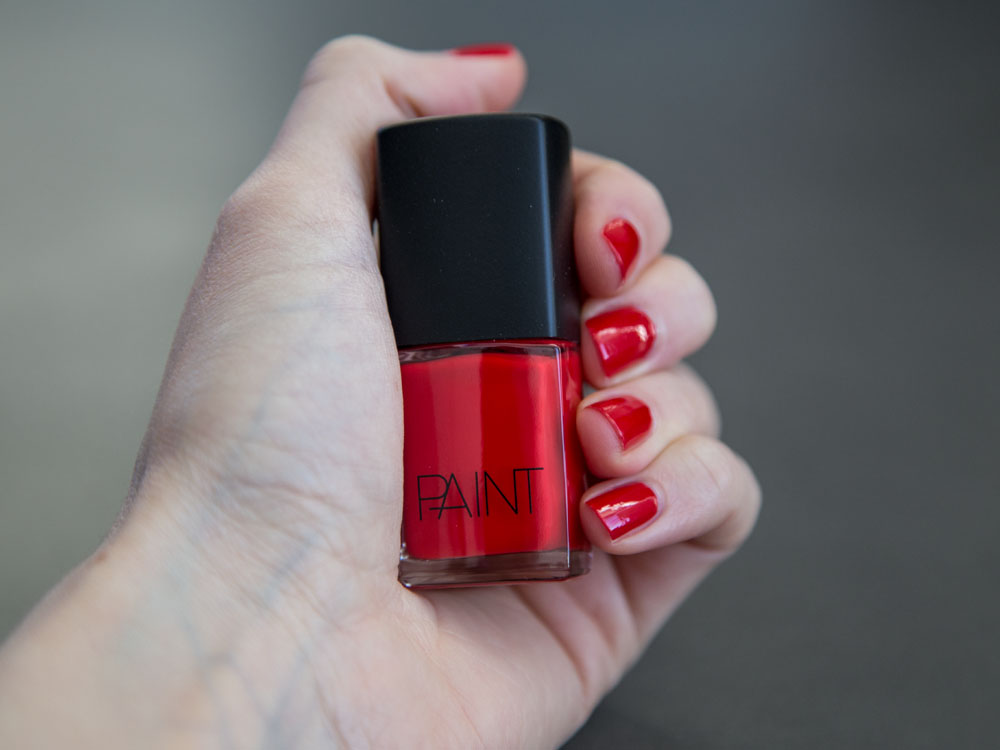 Paint Toxic Free Nail Polish in Paint Red