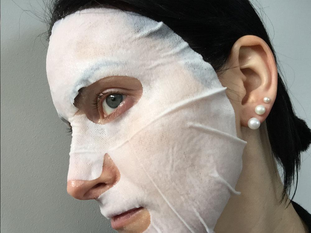 NEOGEN Bright Clear Fiber (Fibre) Sheet Mask