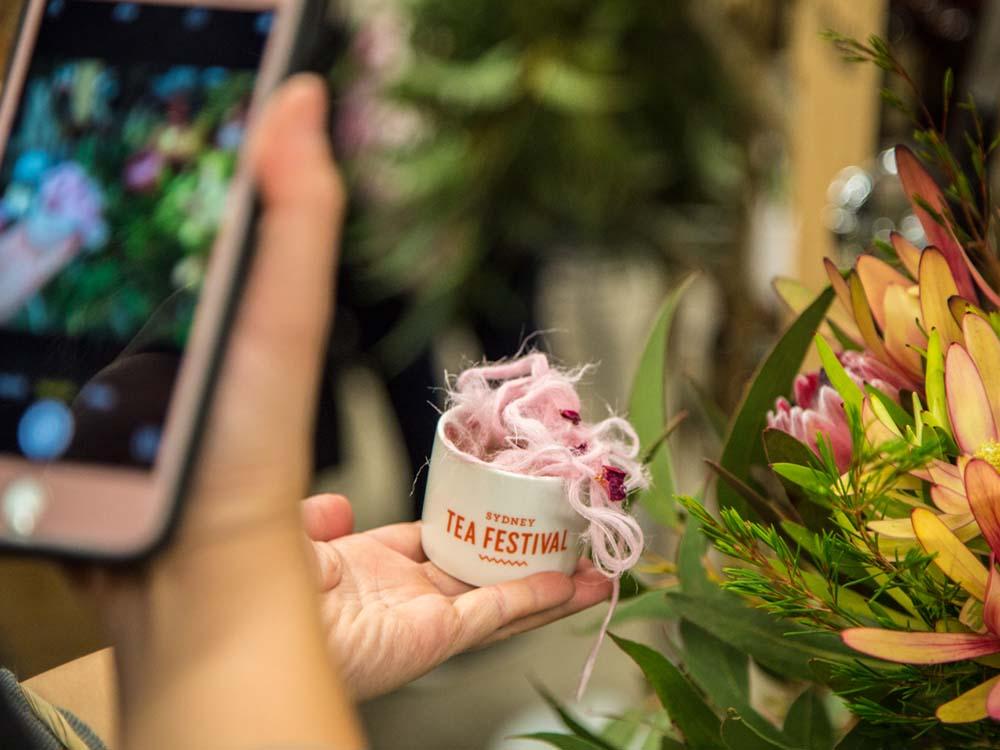 No Longer Healthy; Turkish Floss on Totaler Tea at the Sydney Tea Festival