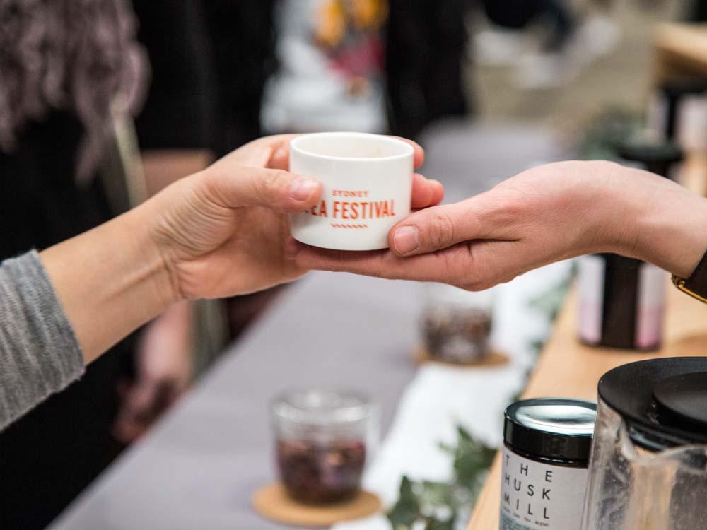 Huge Variety of Tea Vendors at the Sydney Tea Festival; The Husk Mill