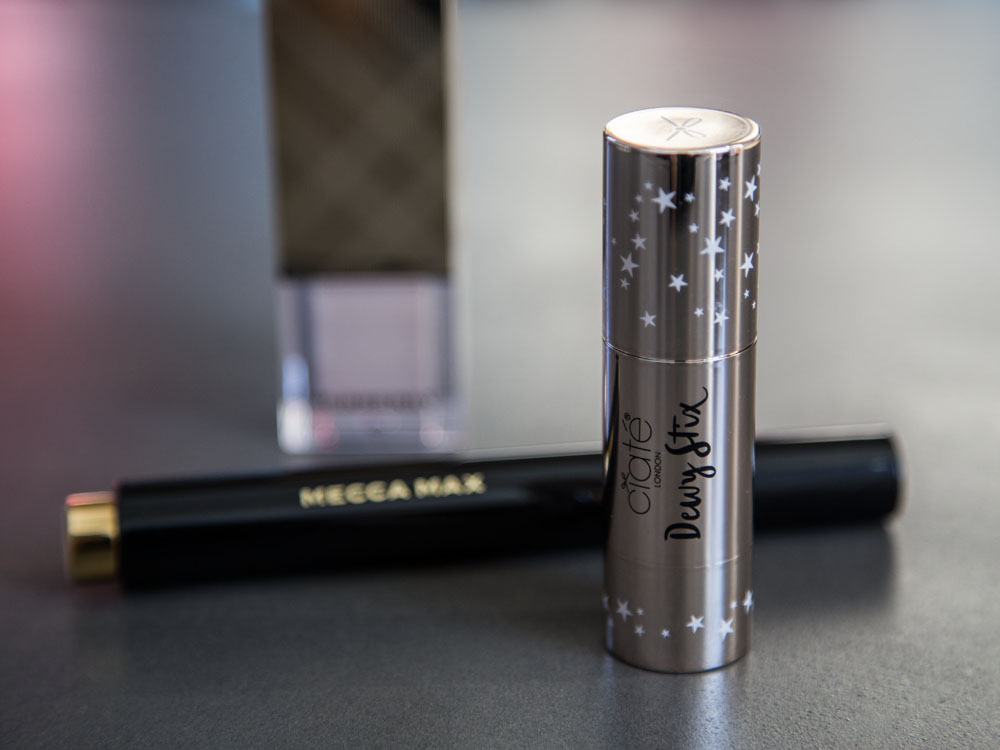 How to Apply a Highlighter,The Lazy Girl's Guide to Highlighters and Illuminators;Burberry Fresh Glow, Mecca Max Shimmer Shot Highlighting Wand and Ciaté London Dewy Stix Luminous Highlighting Balm