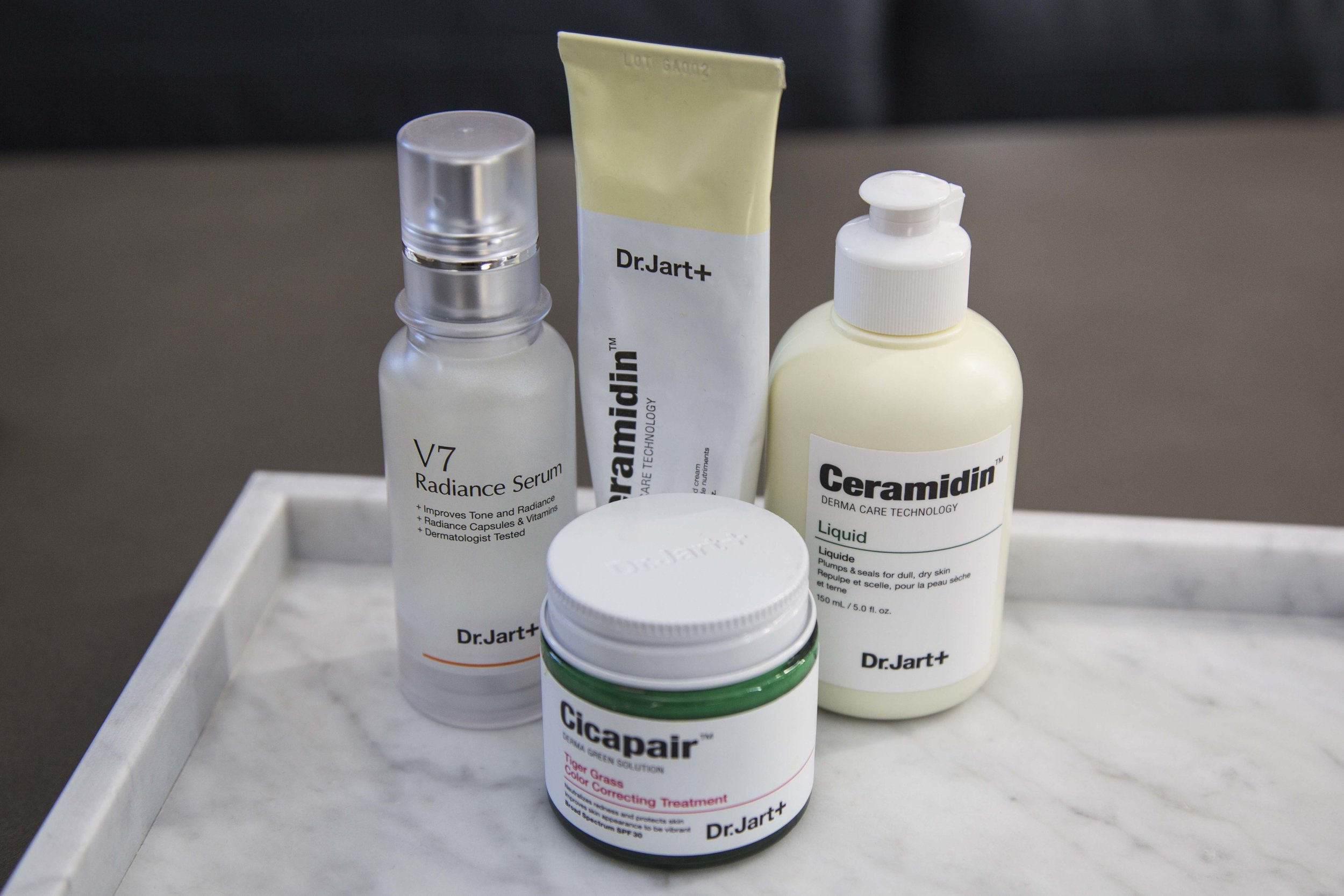 Dr Jart+ and Korean Skincare; Dr Jart+ V7 Radiance Serum, Dr Jart+ Ceramidin™ Cream, Dr Jart+ Ceramidin™ Liquid, Dr Jart+ Cicapair™ Tiger Grass Cream