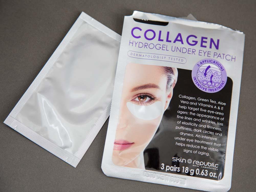 SKIN REPUBLIC Collagen Hydrogel Under Eye Patch 3 Pair Pack