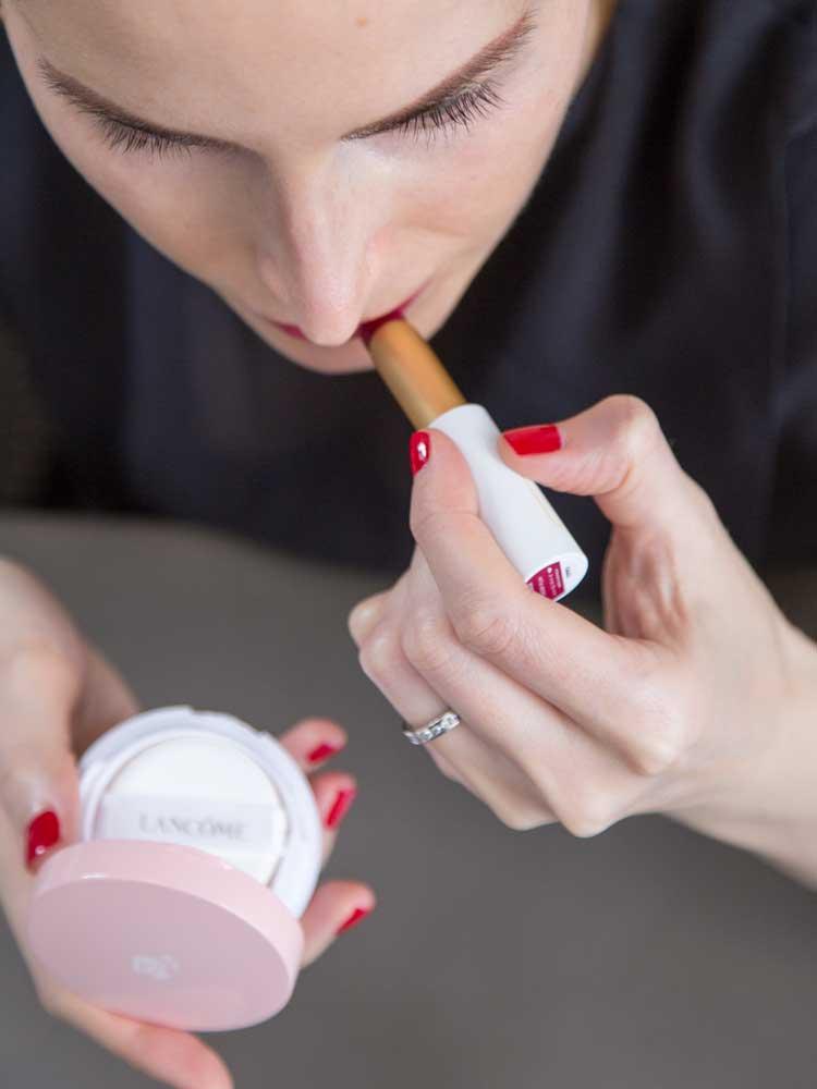 Natural Cosmetics vs Original Formulas; Luk Beautifood Lip Nourish Sheer Lipstick
