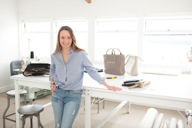 Bridget Brown, co-founder of Filbert, Luxe • Cruelty Free • American Made