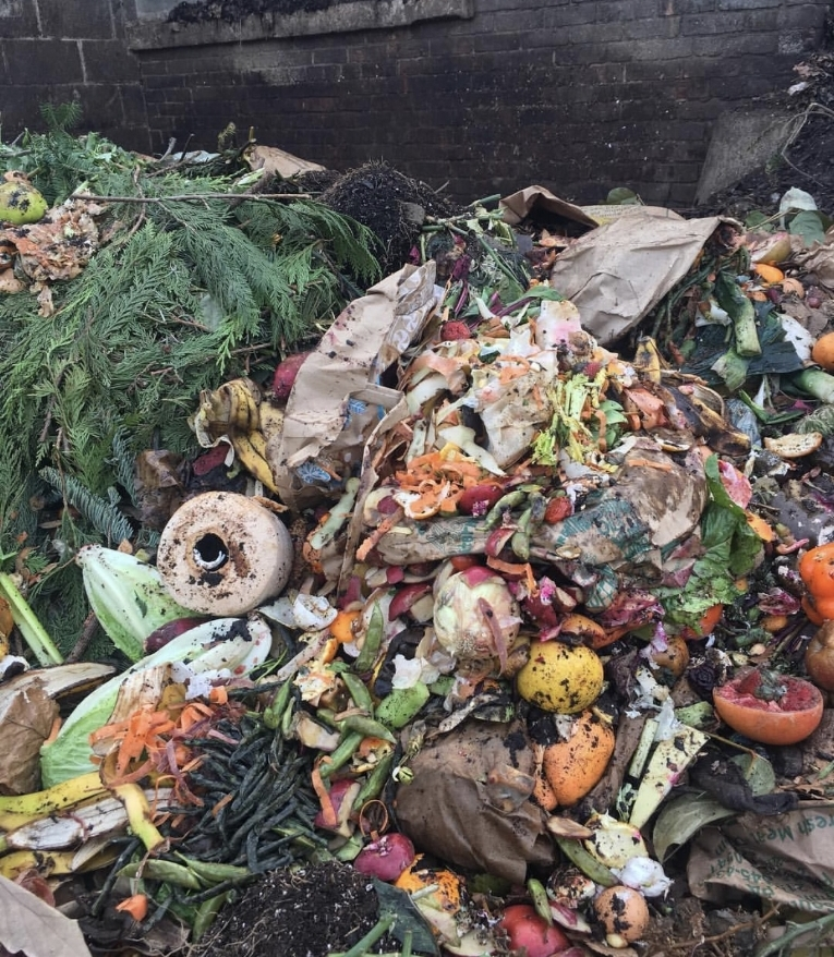Way to much food waste is thrown into Landfill each year... great image from Bennett Compost a composting business based in the US illustrating you can compost more than you think!