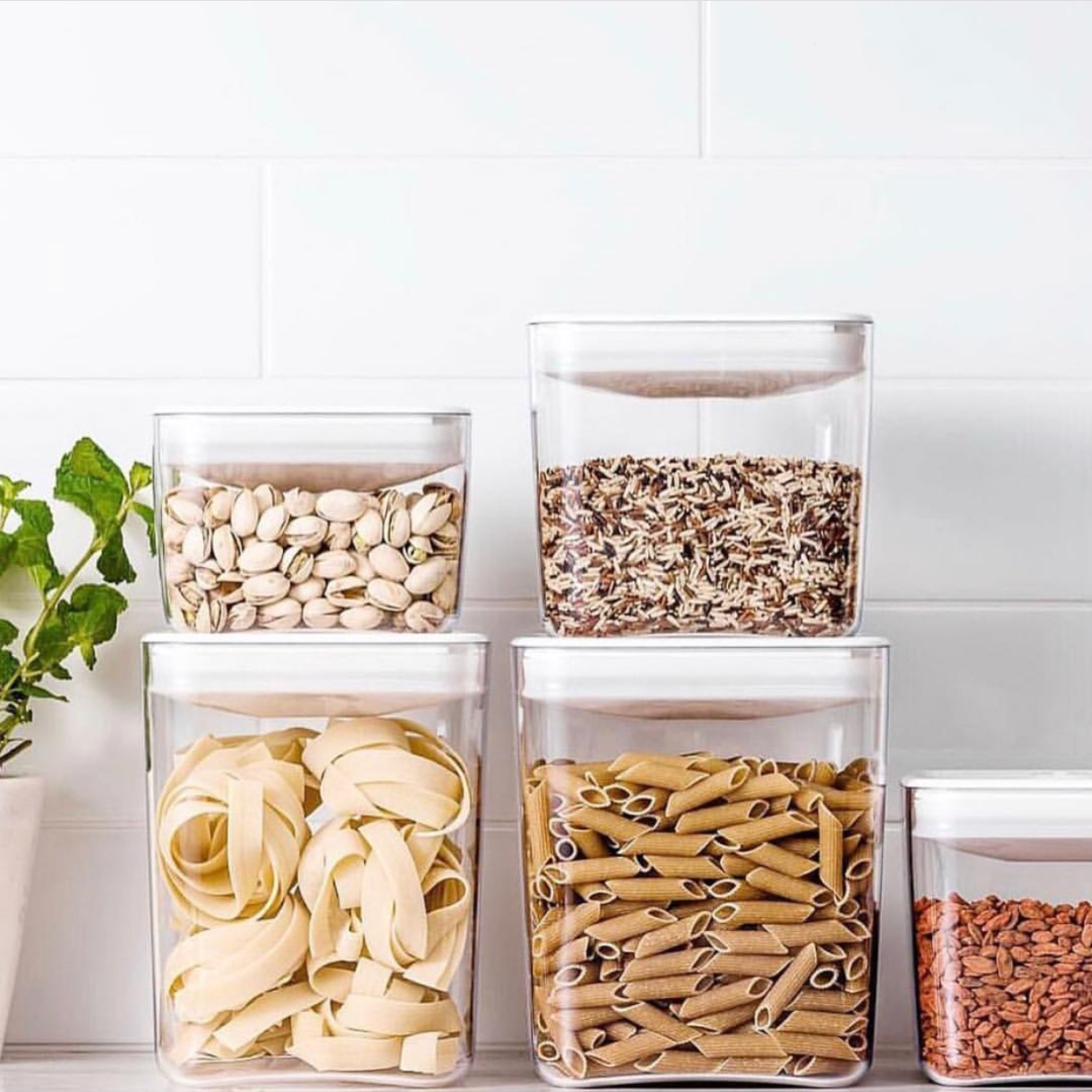 Shop prepared at stores where you can use your own jars & containers to buy in bulk. This not only reduces your waste at home due to removing packaging but it also reduces the cost!