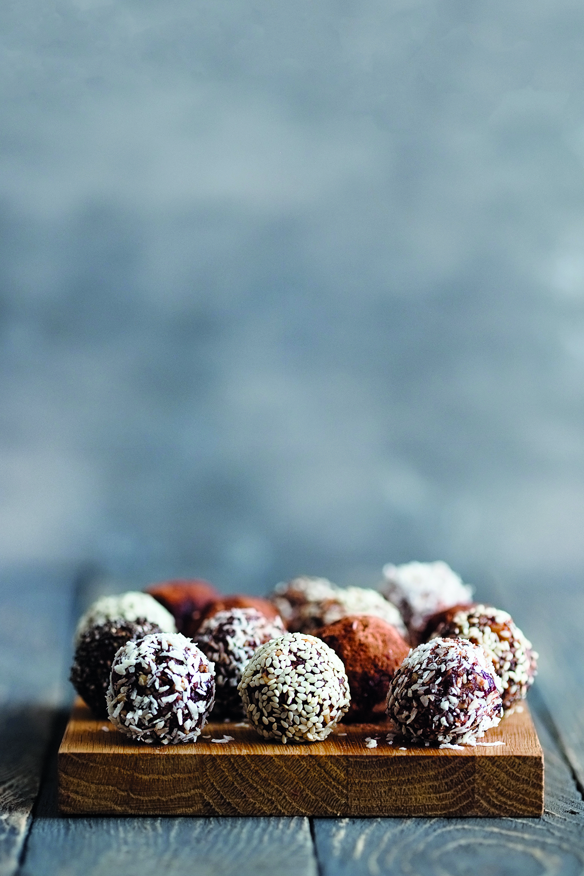 Bliss Balls from The Friendliest Lunchbox Recipe Book
