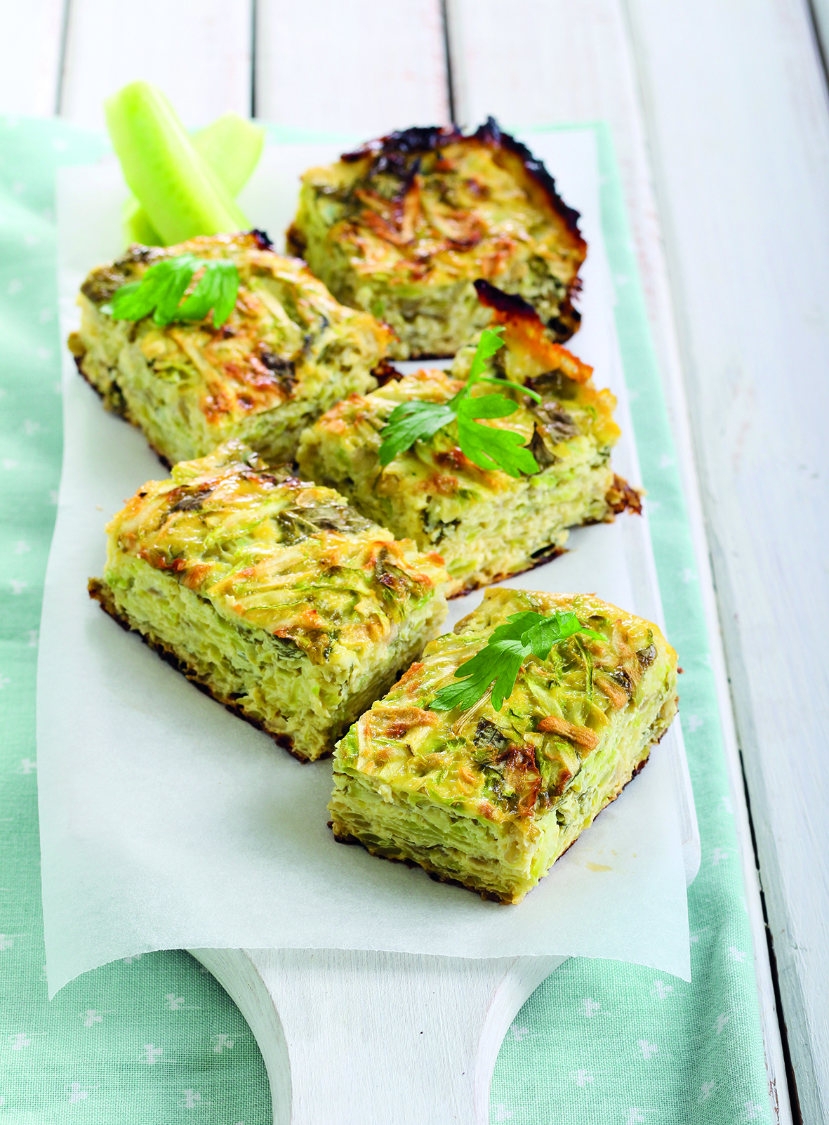 Green Eggs & Ham frittata from The Friendliest Lunchbox Book