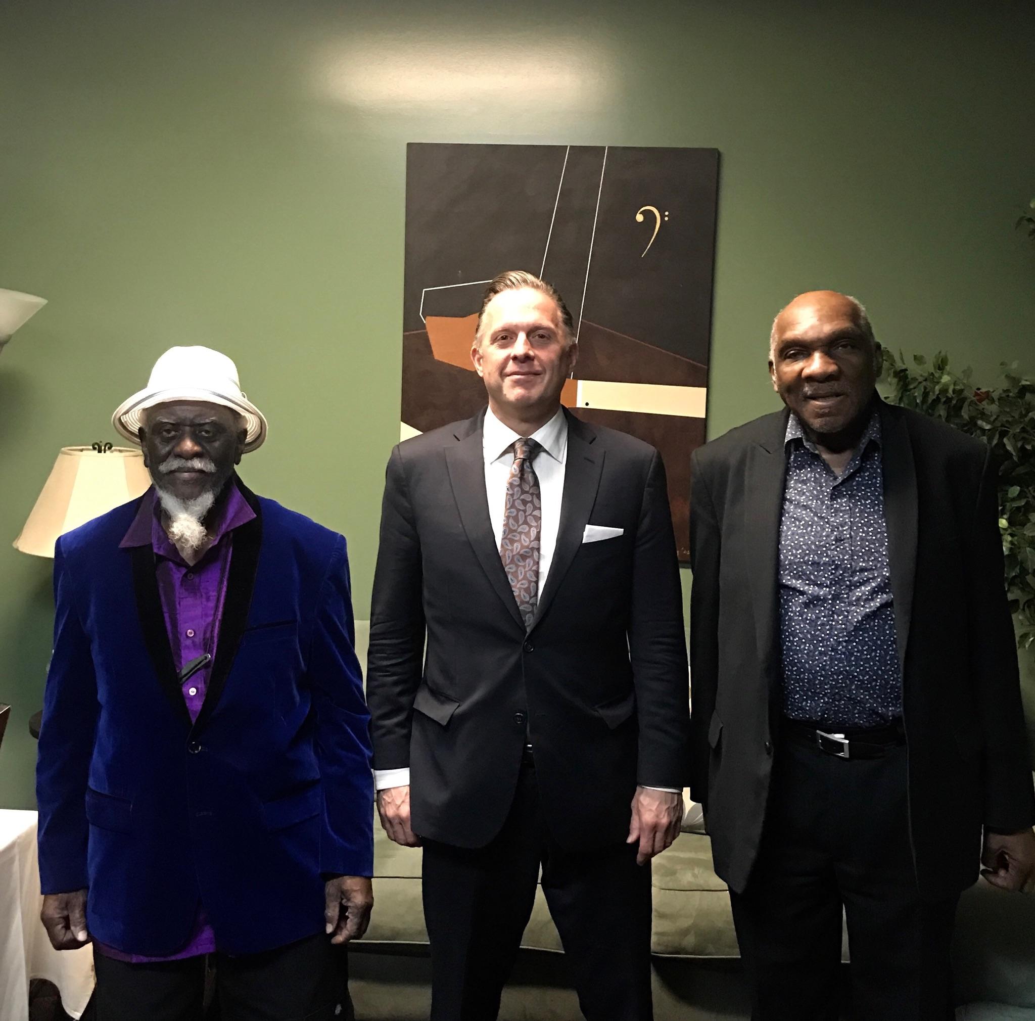Pharaoh Sanders, Joe Farnsworth & Harold Mabern